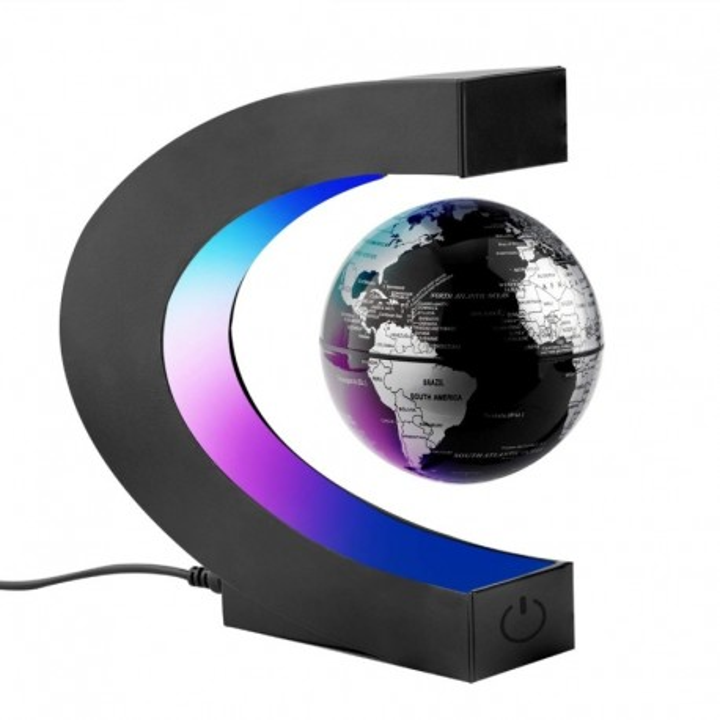 Globe lévitant LED