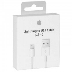 Apple ME291 Câble Lightning Original - 0.5m - Blanc