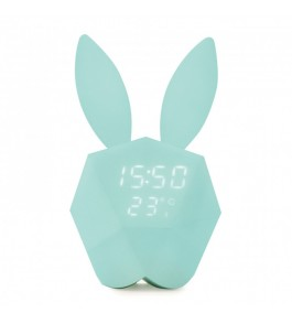 Horloge Intelligente Connectée Cutty Clock Bleue Pastel