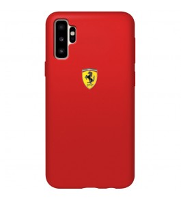 Coque Silicone Ferrari Rouge Samsung Galaxy Note Plus